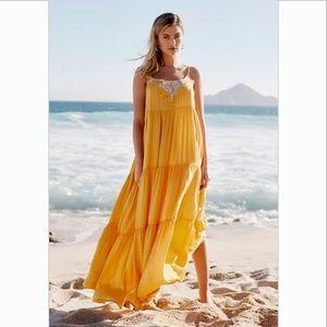 Free People Penelope Maxi Slip Dress